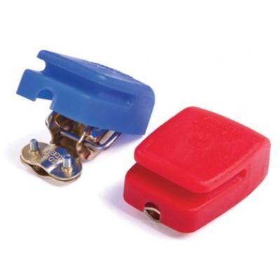 Клеммы для АКБ, быстросъемныеc защитными колпаками.
