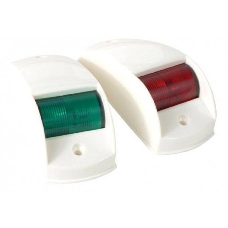 Ходовые навигационные огни (белый пластик)